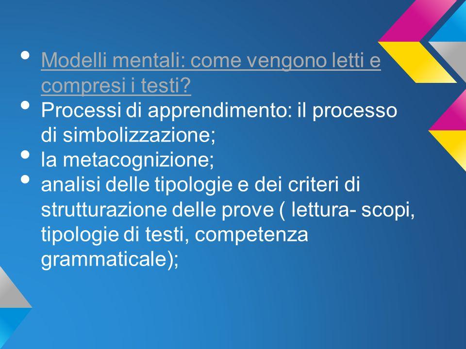 Modelli mentali: come vengono letti e compresi i testi