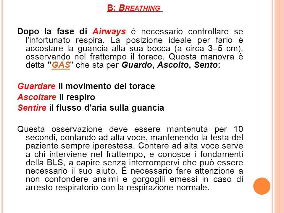 B: Breathing