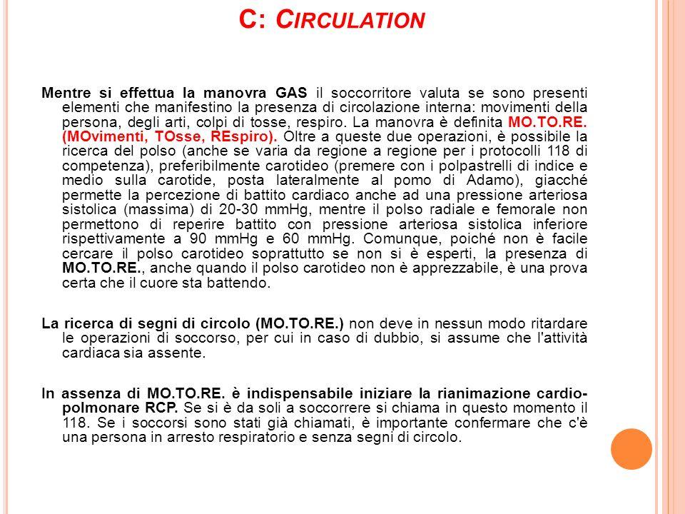 C: Circulation