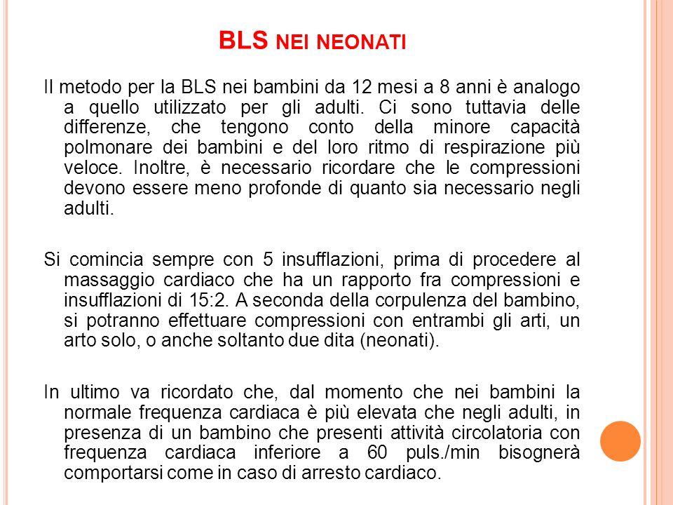 BLS nei neonati
