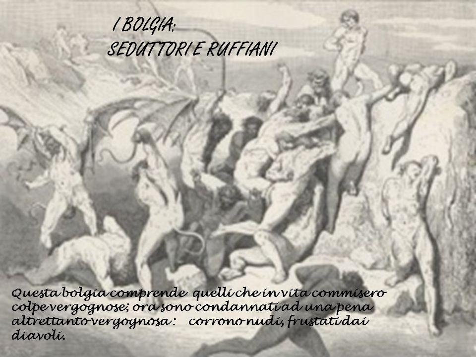 I BOLGIA: SEDUTTORI E RUFFIANI
