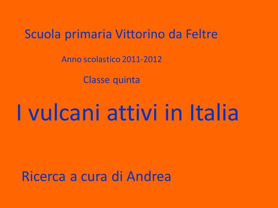 I vulcani attivi in Italia