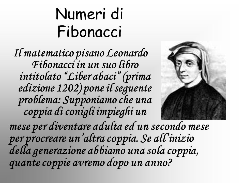 Numeri di Fibonacci