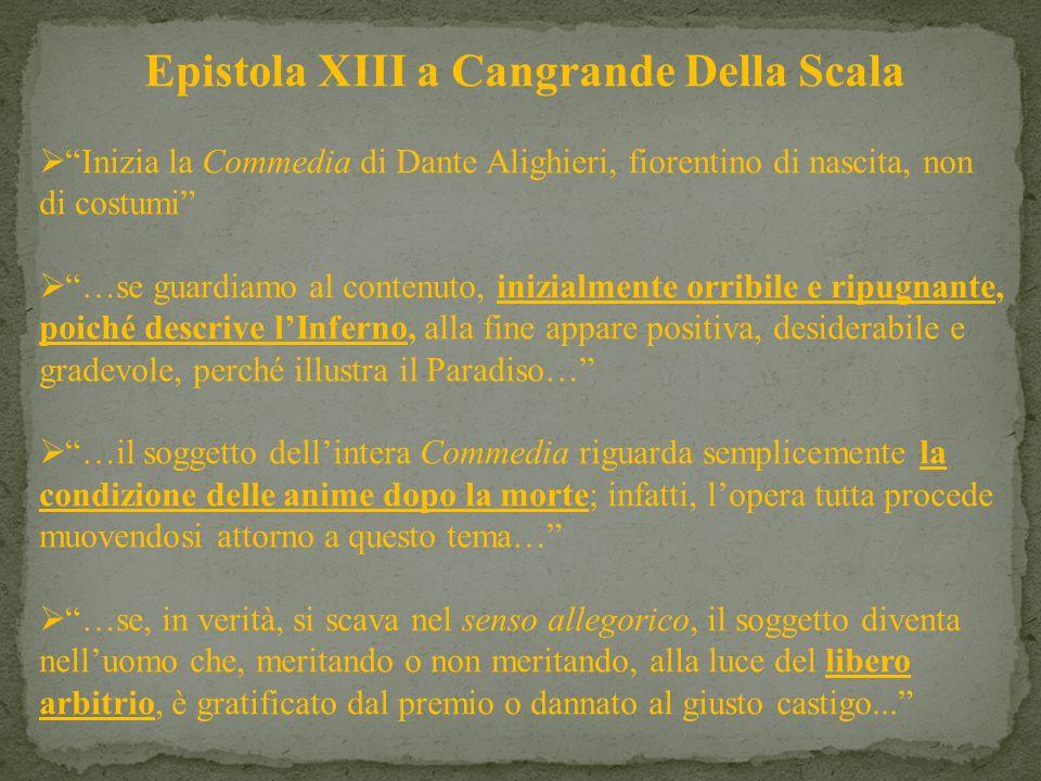 Epistola XIII a Cangrande Della Scala
