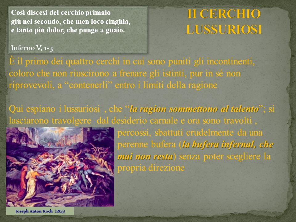 II CERCHIO LUSSURIOSI