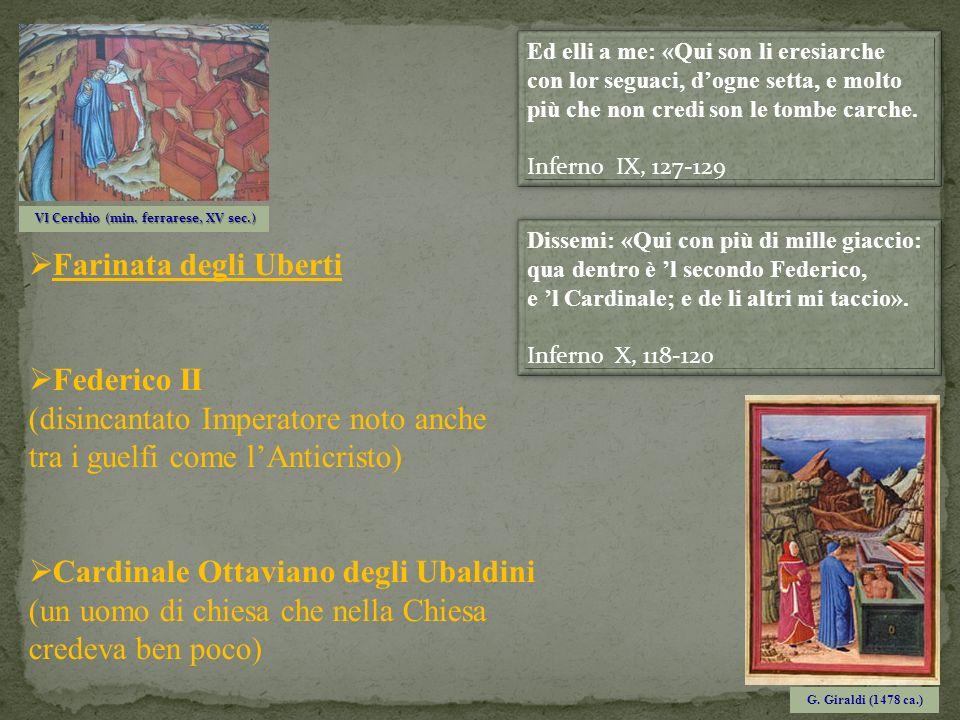 VI Cerchio (min. ferrarese, XV sec.)