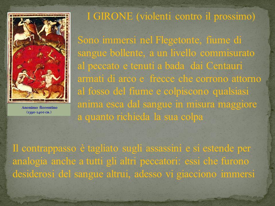 Anonimo fiorentino (1390-1400 ca.)