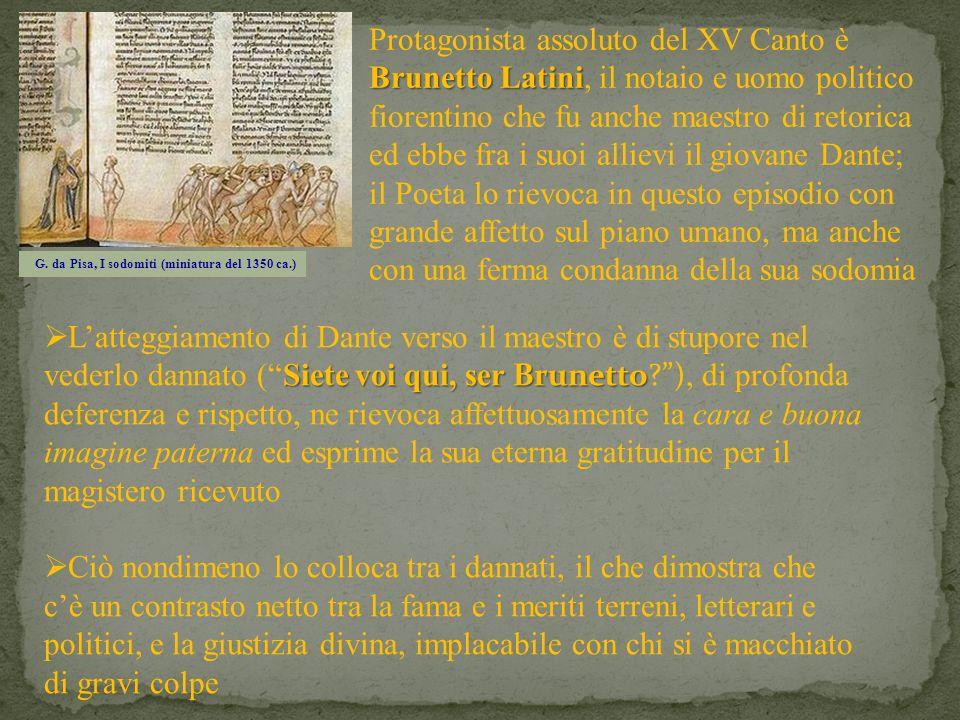 G. da Pisa, I sodomiti (miniatura del 1350 ca.)