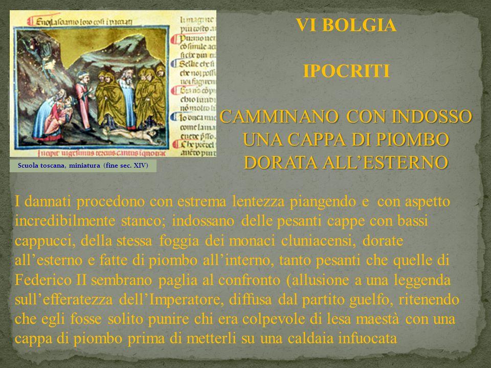 Scuola toscana, miniatura (fine sec. XIV)