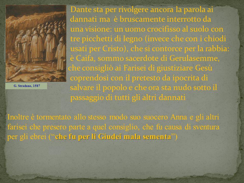 Dante sta per rivolgere ancora la parola ai