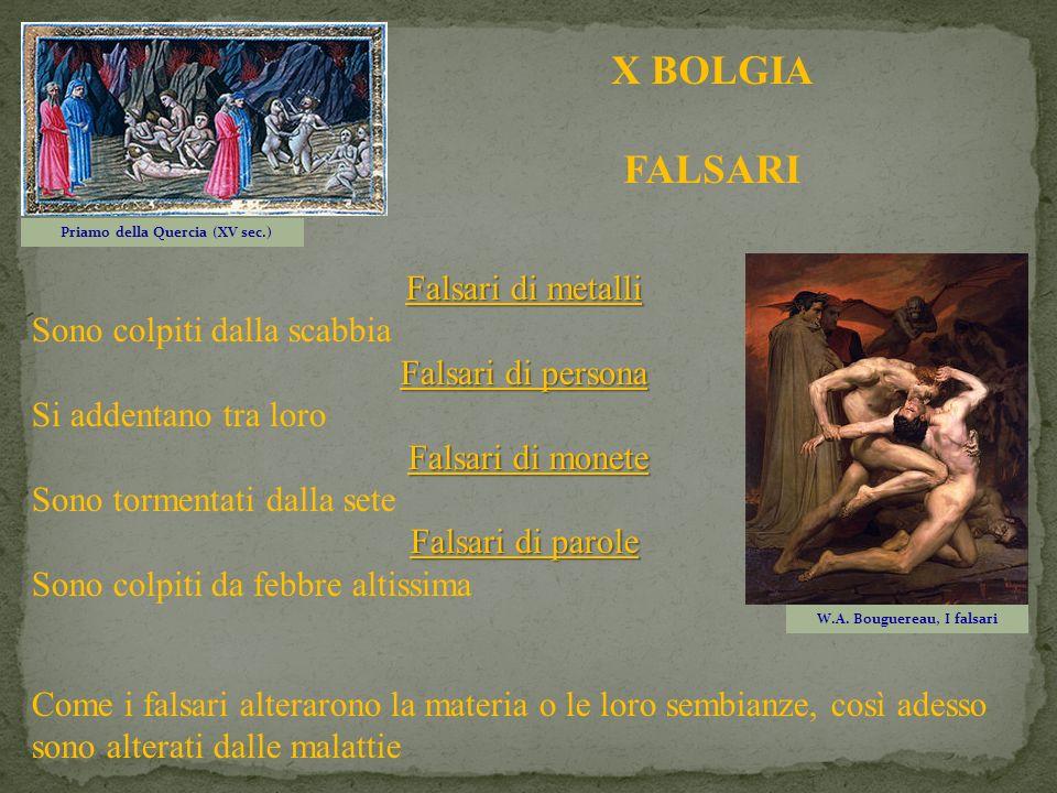 Priamo della Quercia (XV sec.) W.A. Bouguereau, I falsari