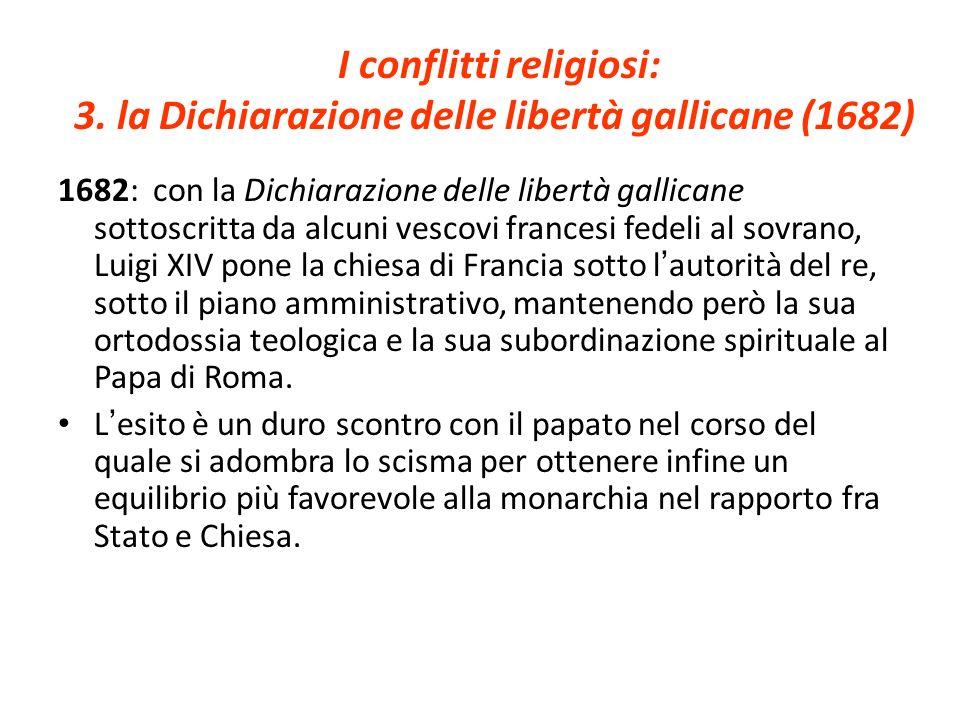 I conflitti religiosi: 3