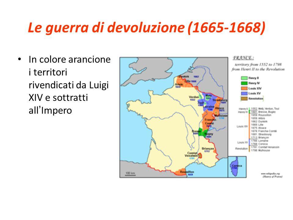 Le guerra di devoluzione (1665-1668)