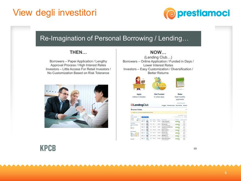 View degli investitori