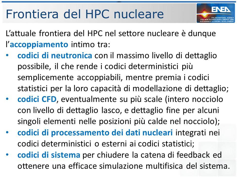 Frontiera del HPC nucleare