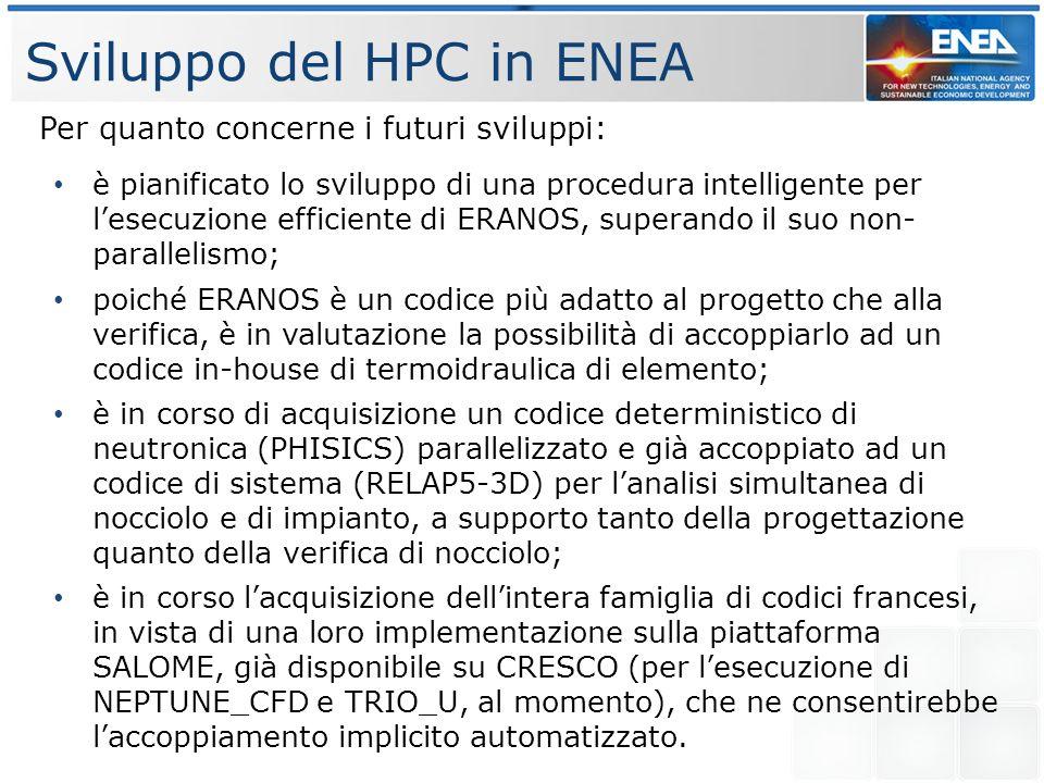 Sviluppo del HPC in ENEA