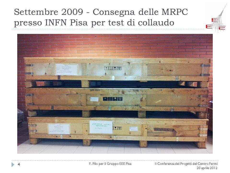 F. Pilo per il Gruppo EEE Pisa