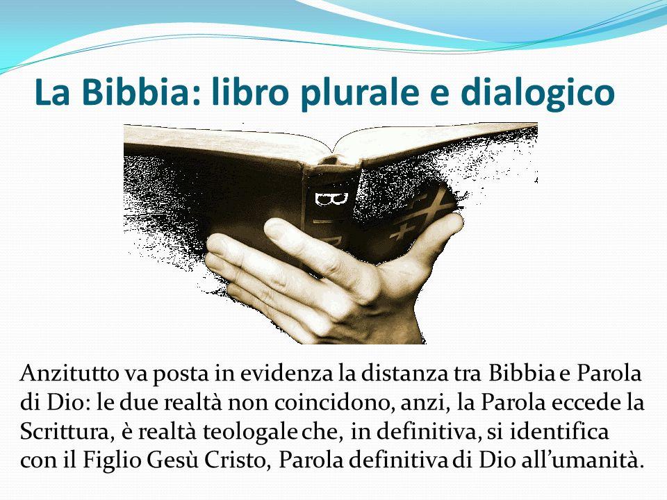 La Bibbia: libro plurale e dialogico