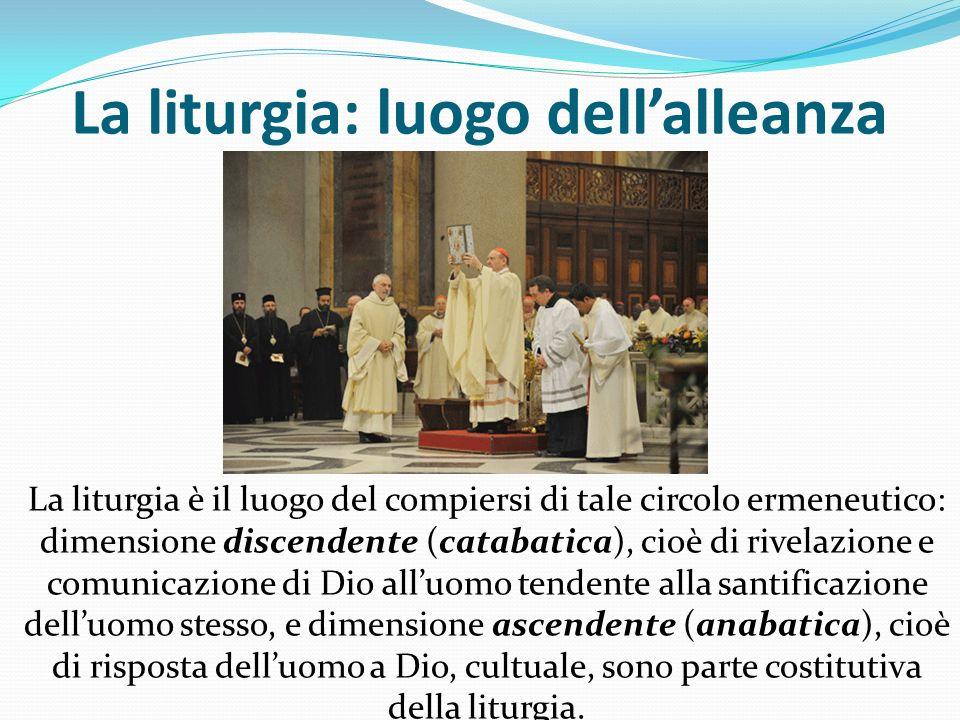 La liturgia: luogo dell'alleanza