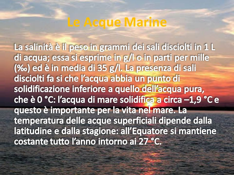 Le Acque Marine
