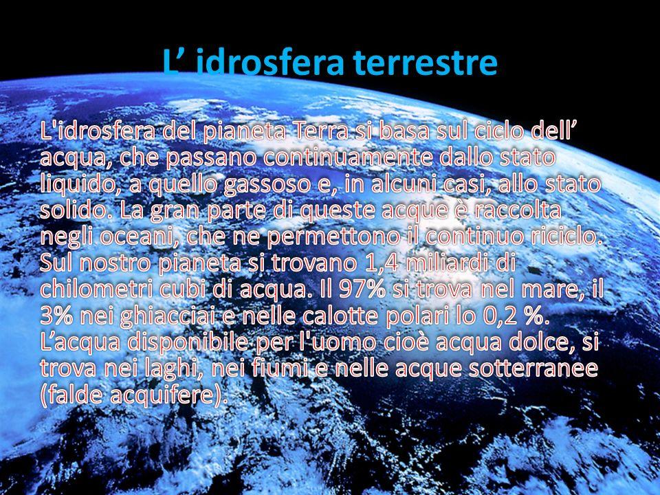 L' idrosfera terrestre