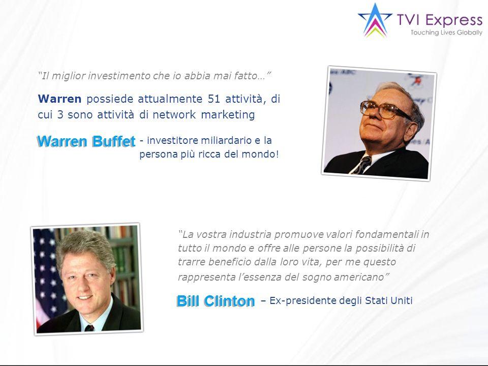 Warren Buffet Bill Clinton