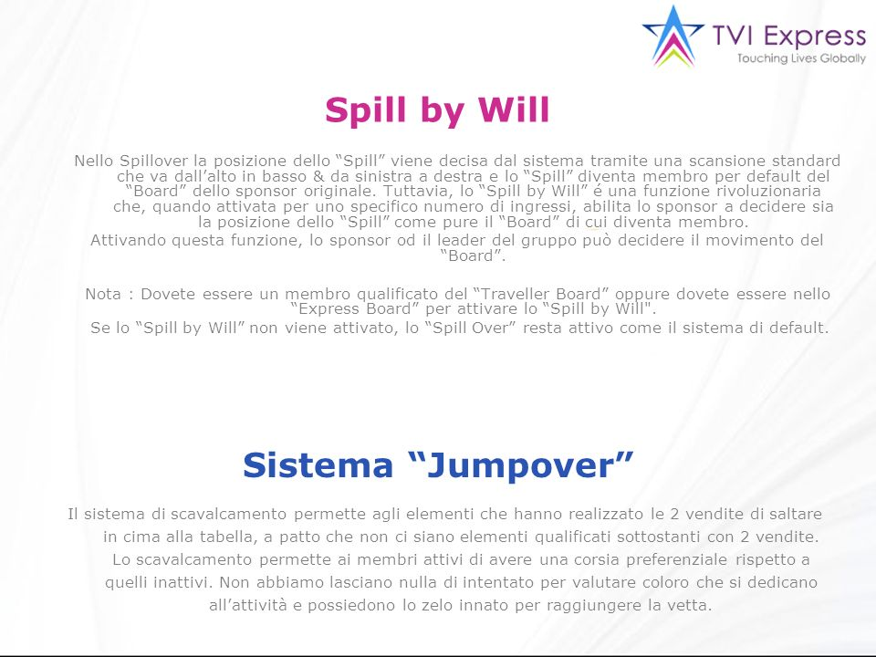 Spill by Will Sistema Jumpover