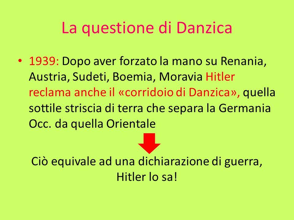 La questione di Danzica