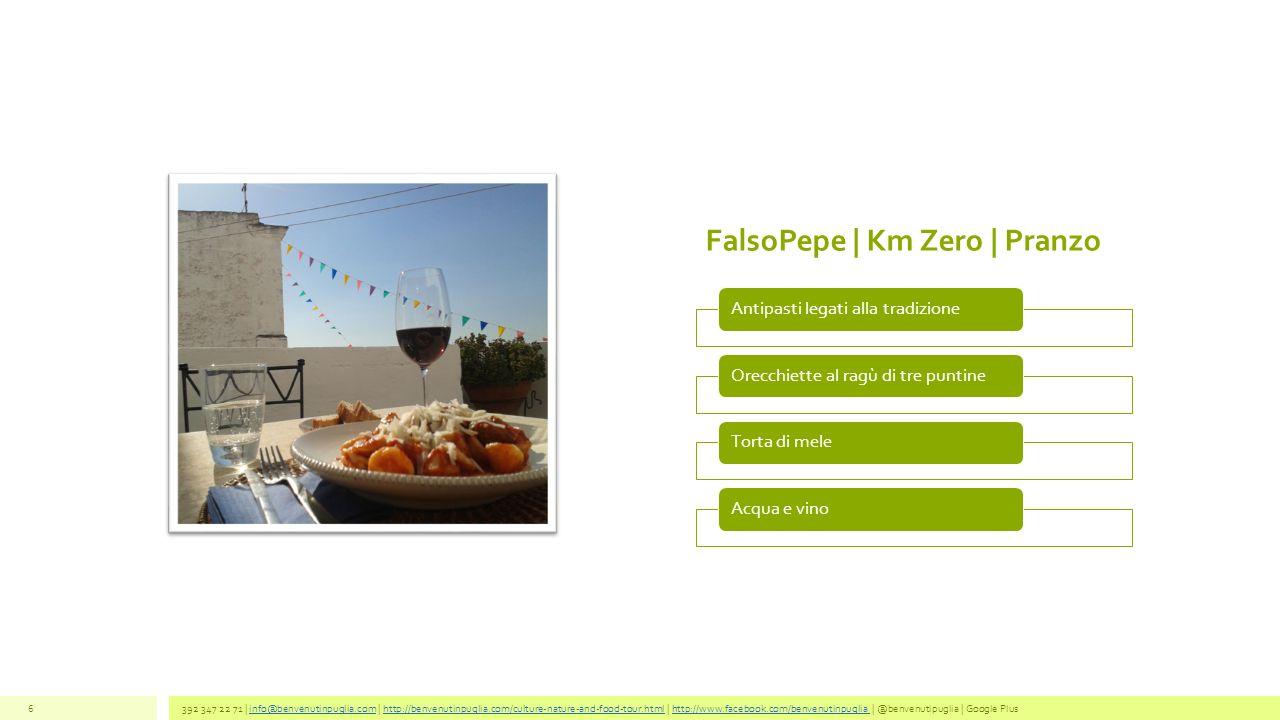 FalsoPepe | Km Zero | Pranzo