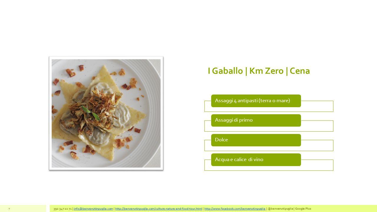 I Gaballo | Km Zero | Cena