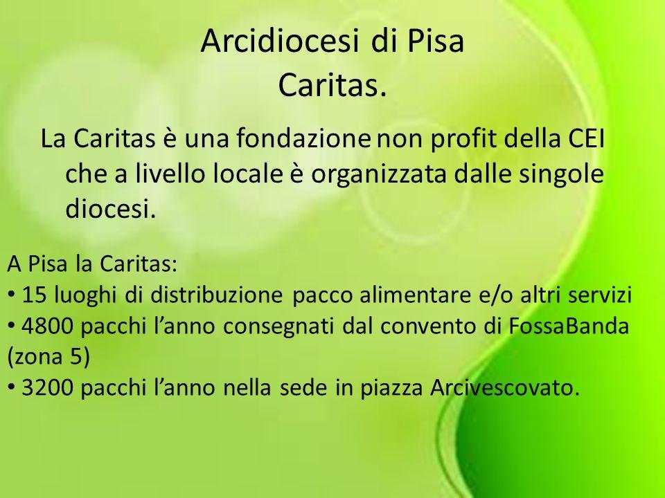 Arcidiocesi di Pisa Caritas.