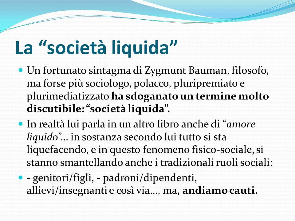 La società liquida