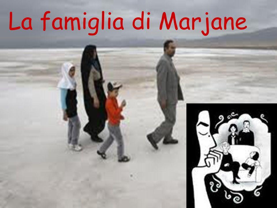 La famiglia di Marjane la famiglia