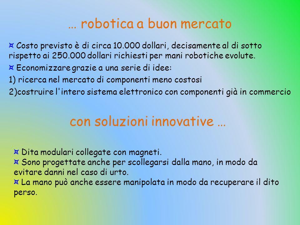 … robotica a buon mercato