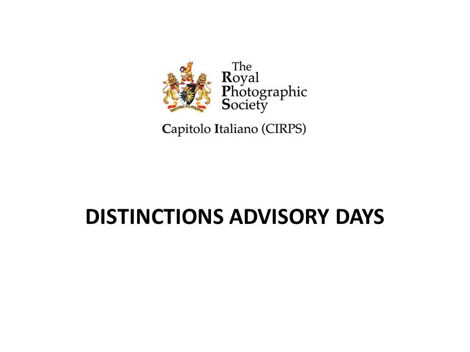 DISTINCTIONS ADVISORY DAYS