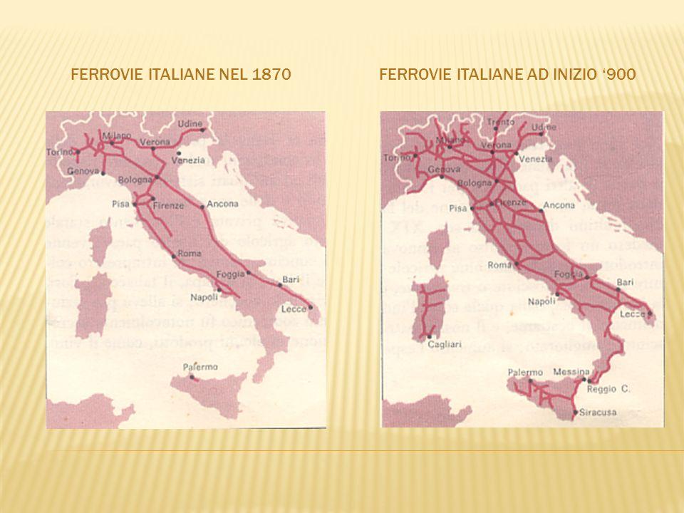 Ferrovie italiane ad inizio '900