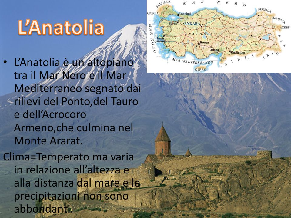 L'Anatolia