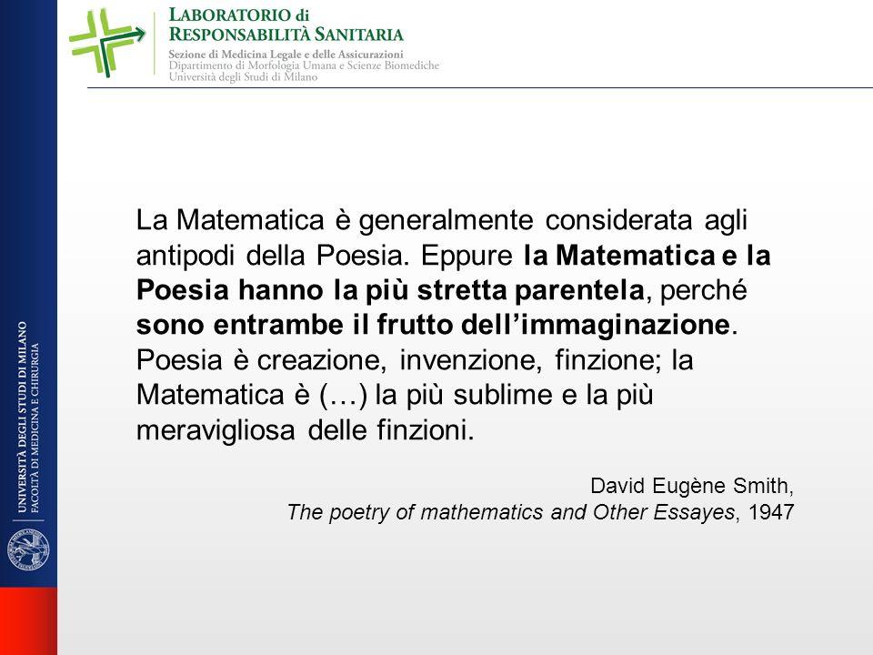 La Matematica è generalmente considerata agli antipodi della Poesia