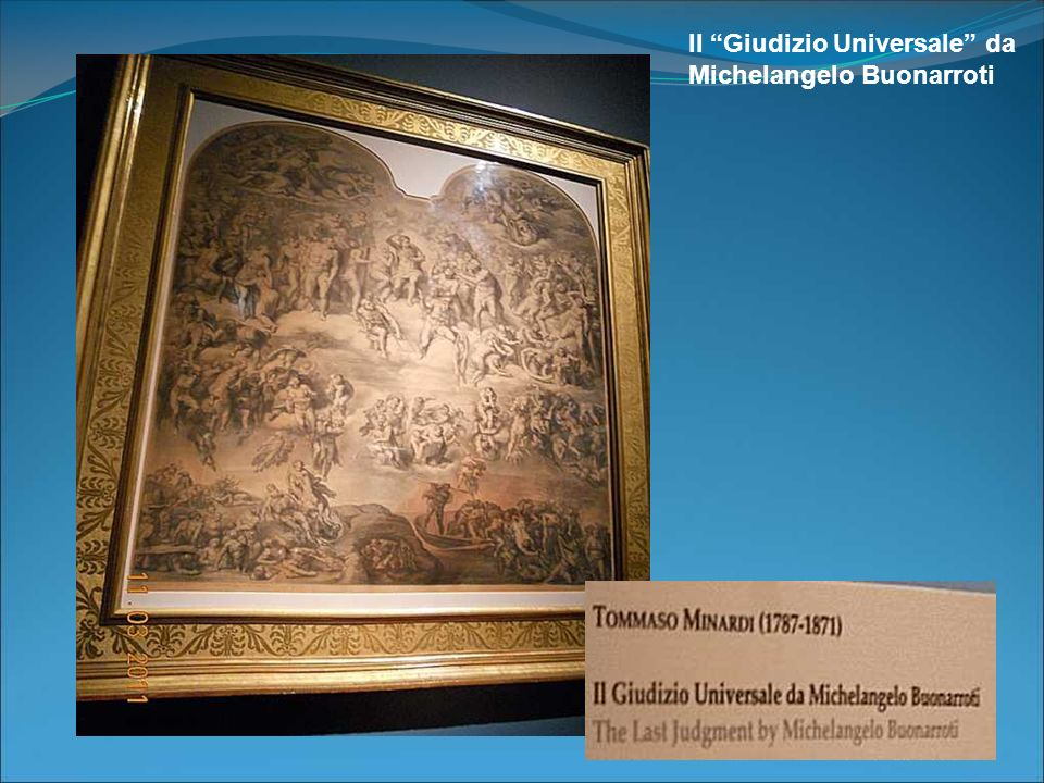 Il Giudizio Universale da Michelangelo Buonarroti