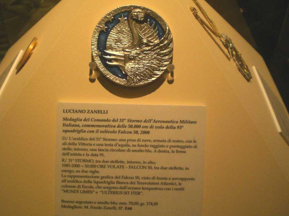 Sezione delle medaglie