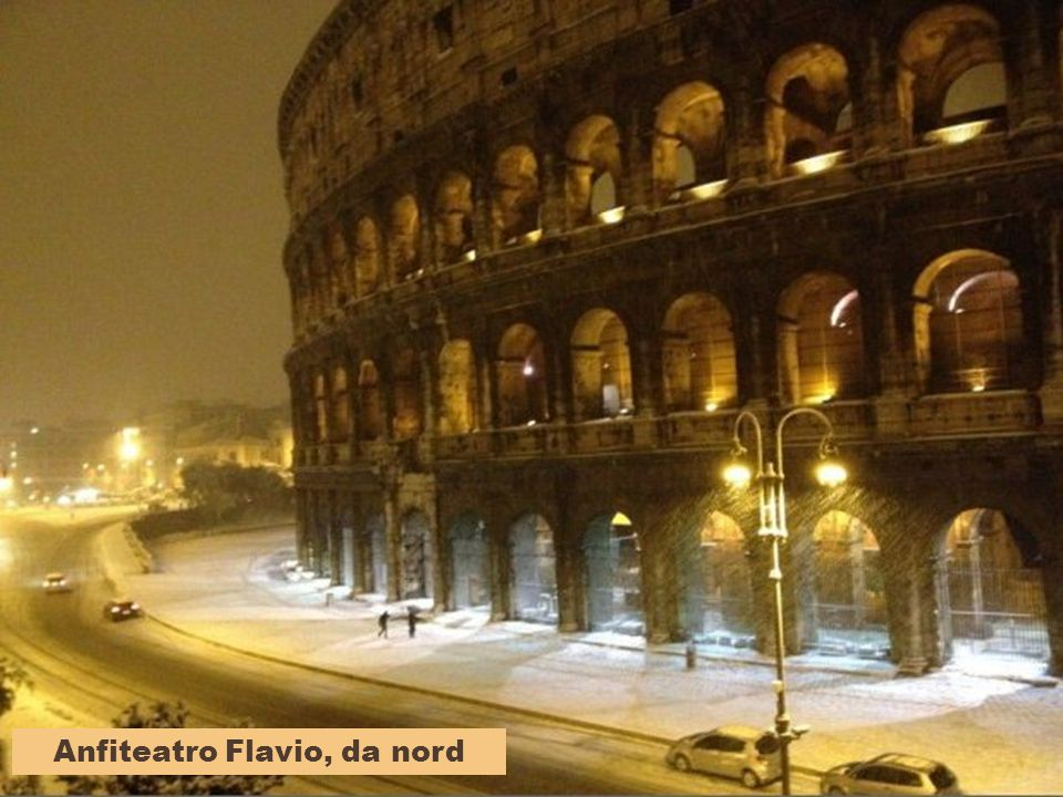 Anfiteatro Flavio, da nord