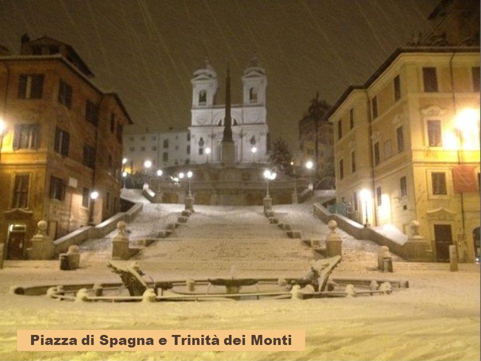 Piazza di Spagna e Trinità dei Monti