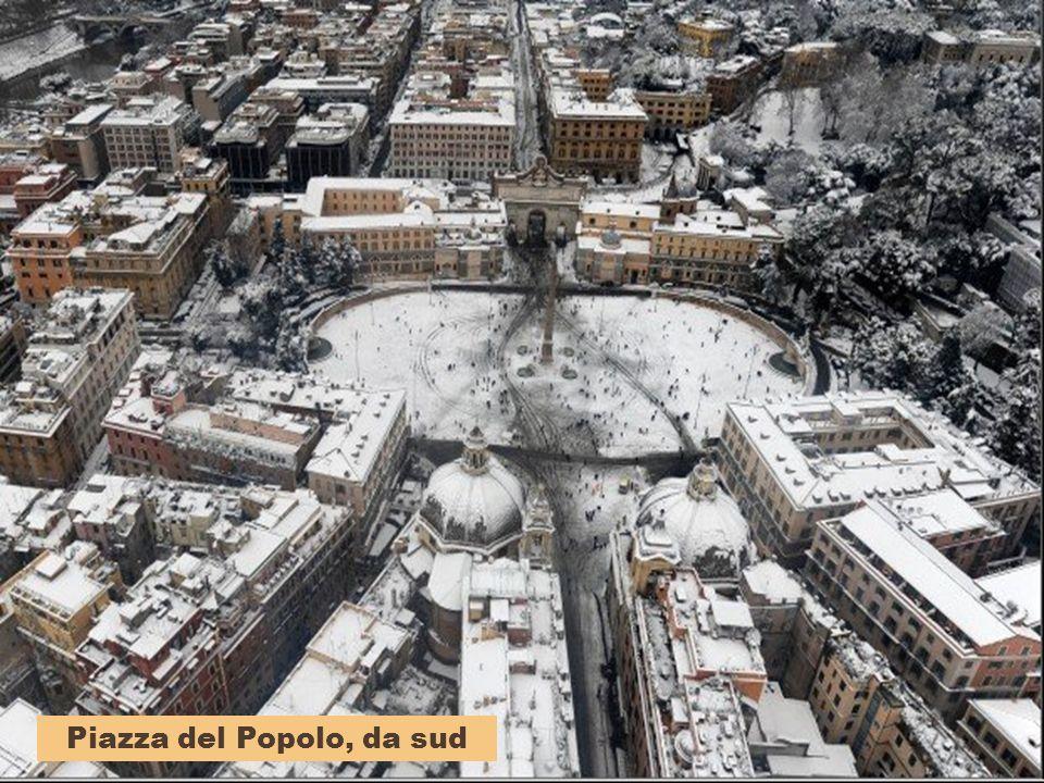 Piazza del Popolo, da sud