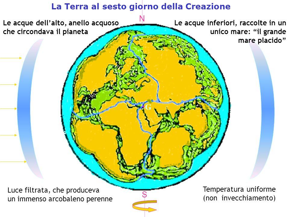 La Terra al sesto giorno della Creazione