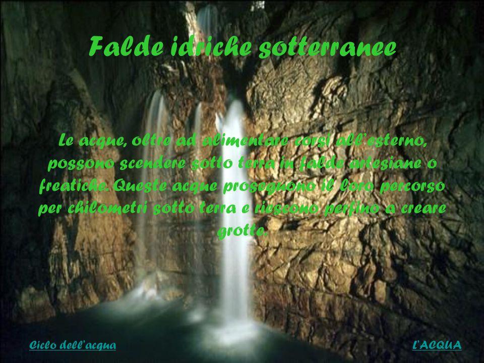 Falde idriche sotterranee