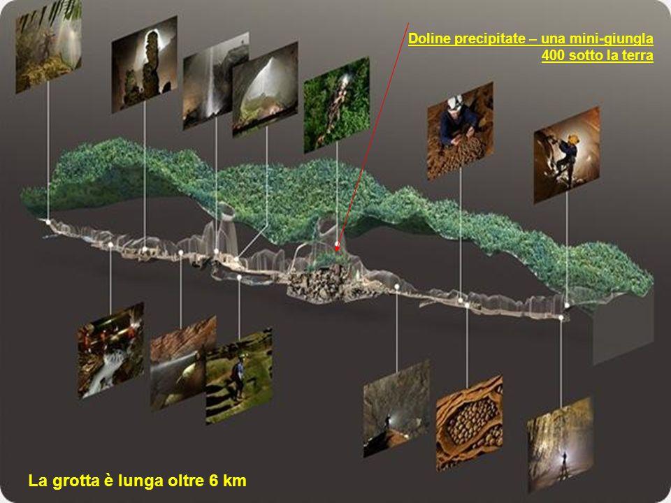 La grotta è lunga oltre 6 km