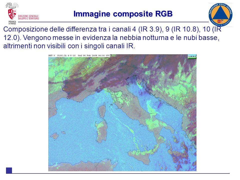 Immagine composite RGB