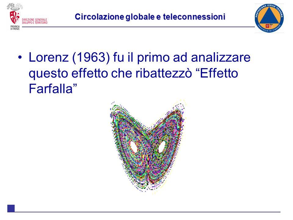 Circolazione globale e teleconnessioni