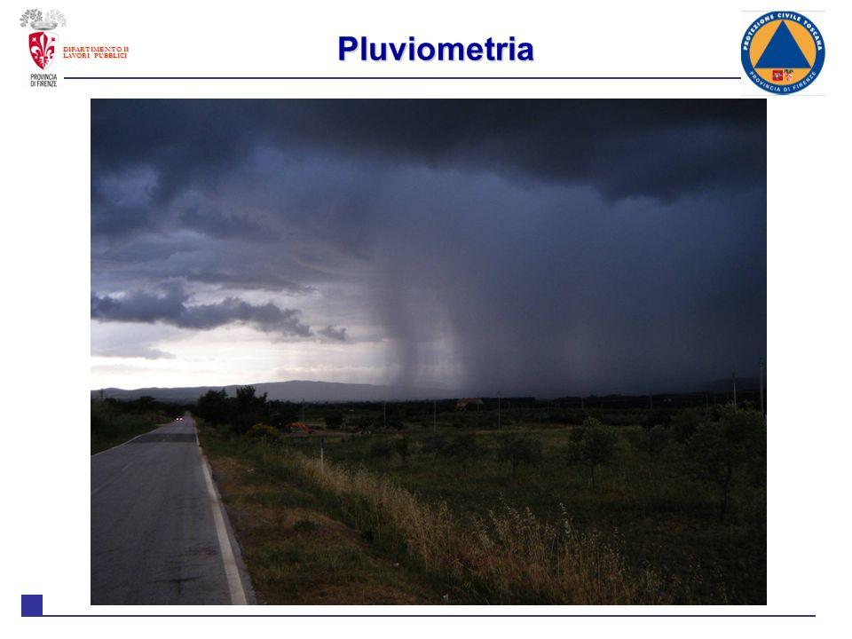 Pluviometria DIPARTIMENTO II LAVORI PUBBLICI