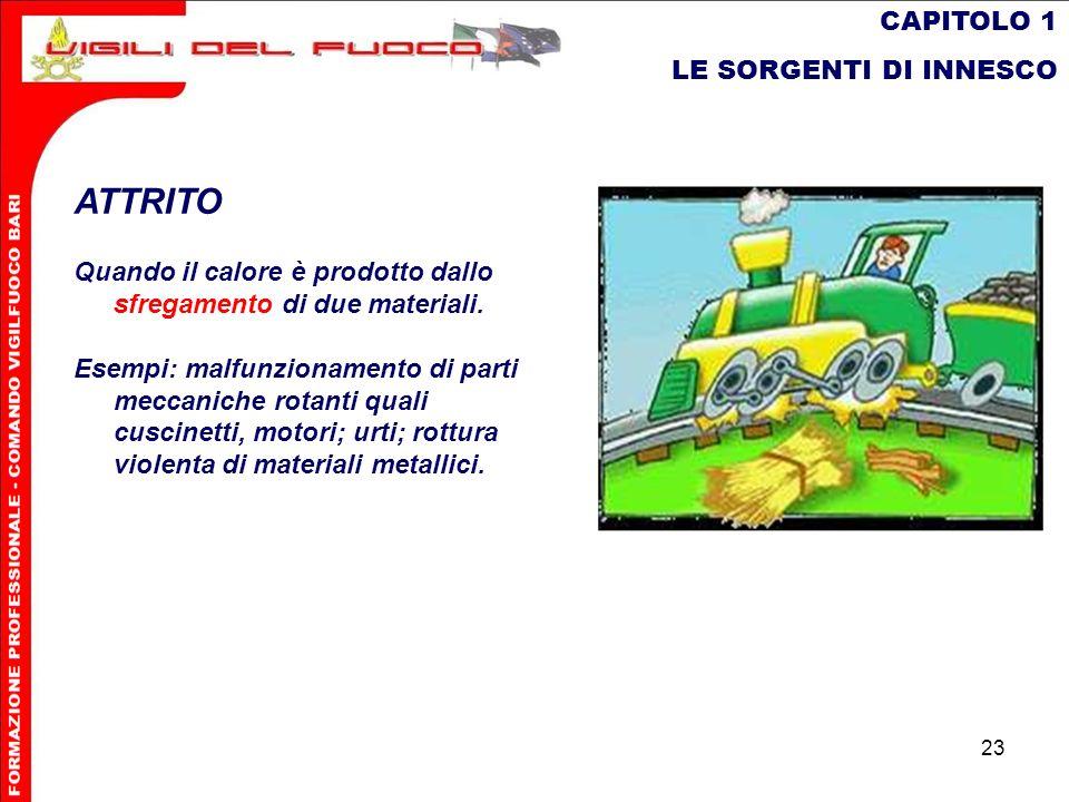 ATTRITO CAPITOLO 1 LE SORGENTI DI INNESCO
